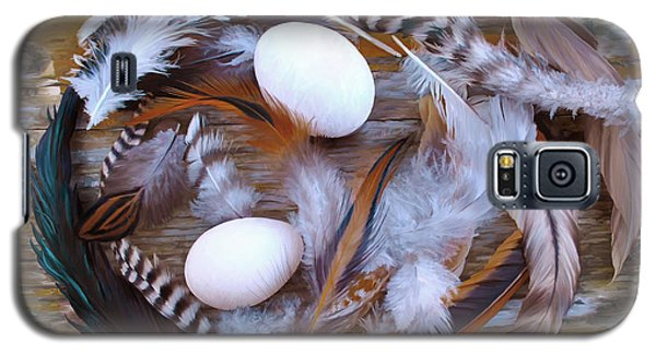 53. Feather Wreath Can Be Ordered Galaxy S5 Case