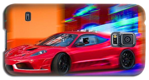 Galaxy S5 Case featuring the photograph Ferrari by Gunter Nezhoda