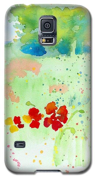 Field Of Flowers Galaxy S5 Case