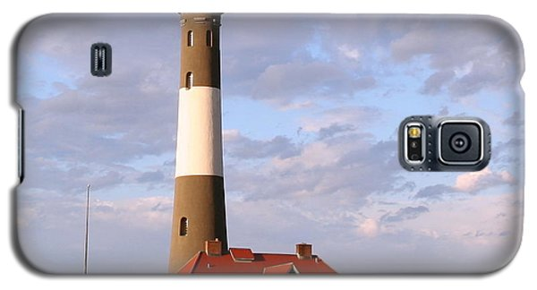 Galaxy S5 Case featuring the photograph Fire Island Lighthouse by Karen Silvestri