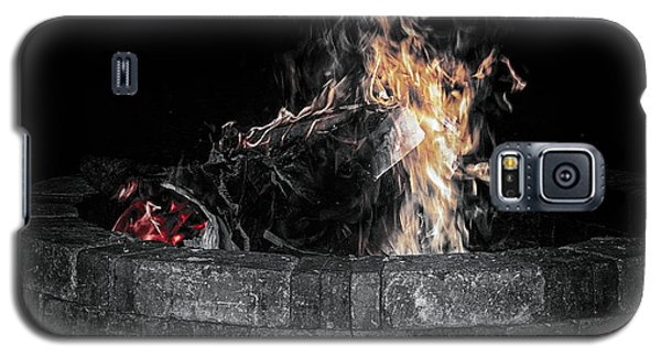 Fire Pit Galaxy S5 Case