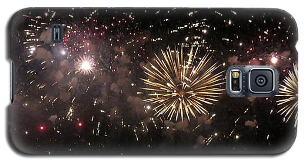 Fireworks 14 Galaxy S5 Case by France Laliberte