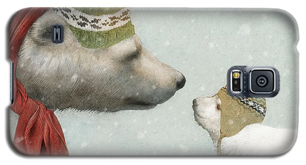 Bear Galaxy S5 Case - First Winter by Eric Fan