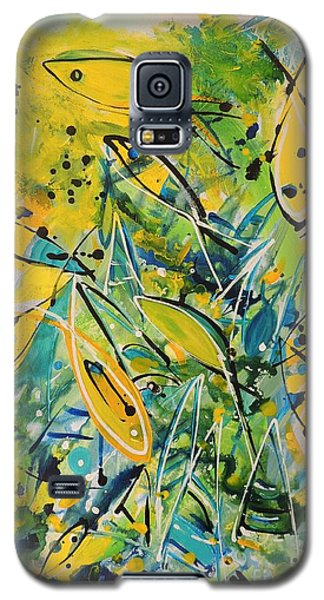 Fish Frenzy Galaxy S5 Case by Lyn Olsen
