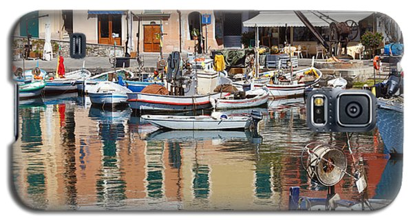fishing boats in Camogli  Galaxy S5 Case