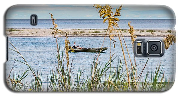 Fishing In Pawleys Island Inlet Galaxy S5 Case