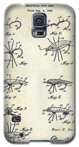 Fishing Lure Patent  Galaxy S5 Case