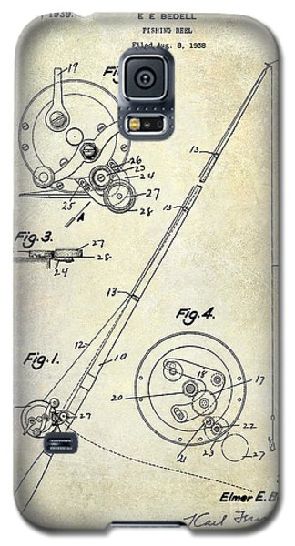 Fishing Reel Patent 1939 Galaxy S5 Case