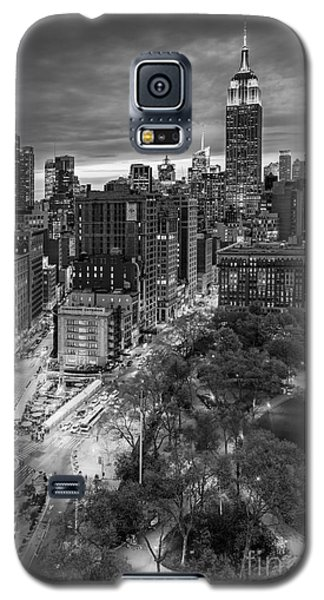 Flatiron District Birds Eye View Galaxy S5 Case by Susan Candelario