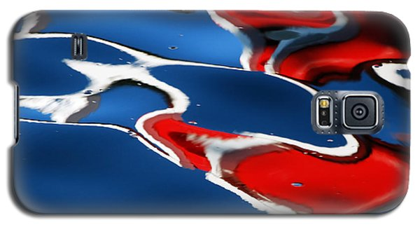 Floating On Blue 5 Galaxy S5 Case