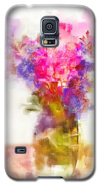 Floral Still Life Galaxy S5 Case by Linde Townsend