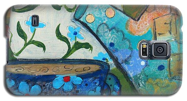 Floral Tea Galaxy S5 Case