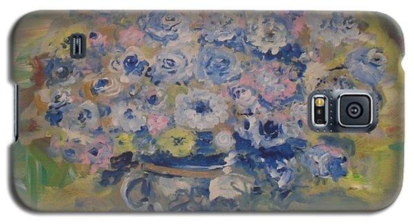 Flow Bleu Galaxy S5 Case by Laurie L