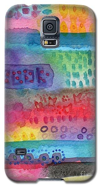 Flower Garden Galaxy S5 Case by Linda Woods