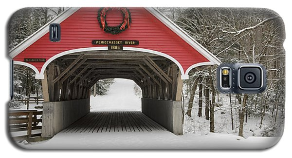 Flume Covered Bridge - White Mountains New Hampshire Usa Galaxy S5 Case