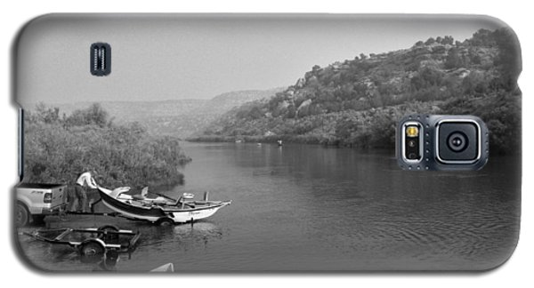 Fly Fishing The San Juan Galaxy S5 Case by Max Mullins