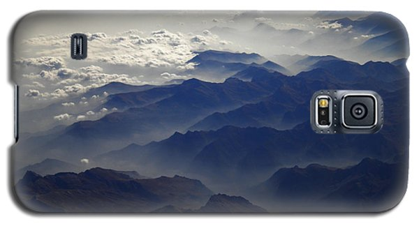 Flying Over The Alps In Europe Galaxy S5 Case by Colette V Hera  Guggenheim