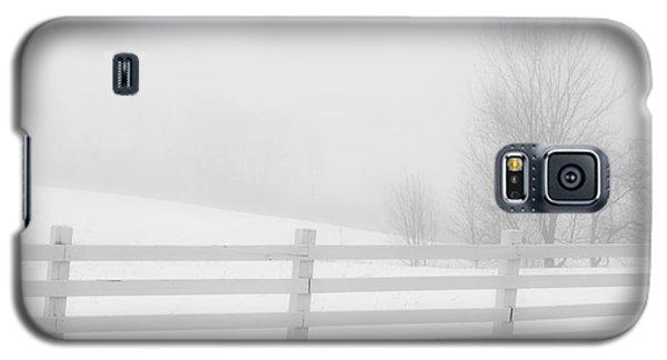 Foggy Winters Day Galaxy S5 Case by Alana Ranney