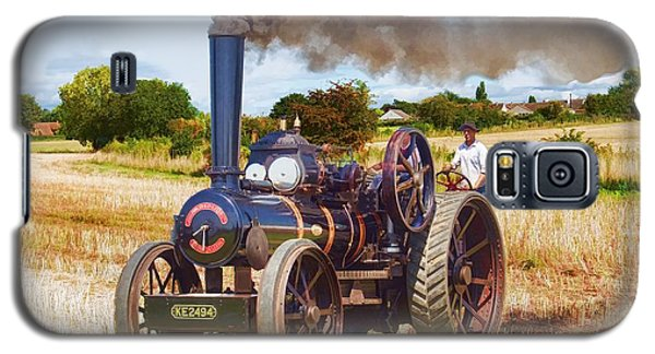 Fowler Ploughing Engine Galaxy S5 Case