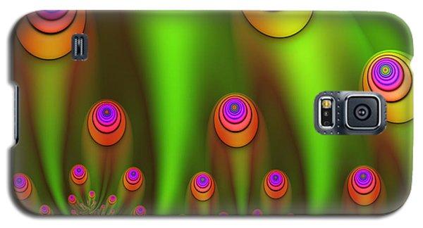 Fractal Fantasy Garden Galaxy S5 Case