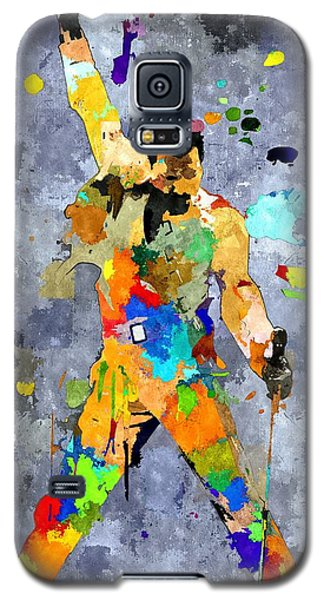 Freddie Mercury Galaxy S5 Case by Daniel Janda