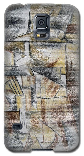 Galaxy S5 Case featuring the digital art French Curves 4 by Clyde Semler