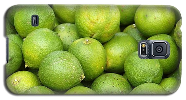 Fresh Green Lemons Galaxy S5 Case by Yali Shi