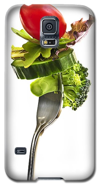 Fresh Vegetables On A Fork Galaxy S5 Case