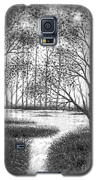 Galaxy S5 Case featuring the digital art Frosty Morning by Cristophers Dream Artistry