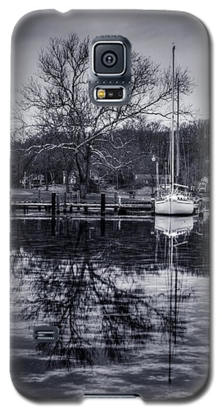 Frozen Sailboat And Cloudy Ice Galaxy S5 Case