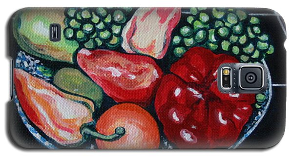 Fruit And Peppers Galaxy S5 Case by Joyce Gebauer