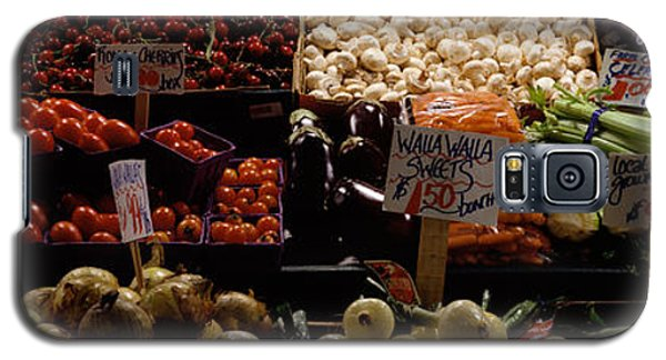 Fruits And Vegetables At A Market Galaxy S5 Case by Panoramic Images