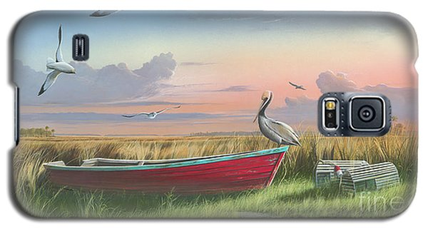 Gathering At Sunrise Galaxy S5 Case by Mike Brown