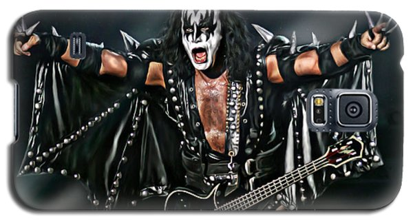 Gene Simmons Galaxy S5 Case by Don Olea