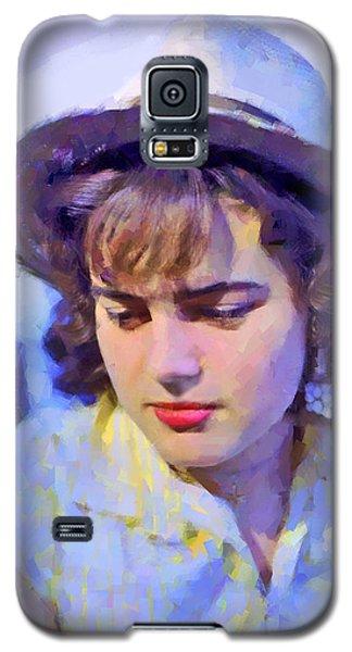 German Girl On The Rhine Galaxy S5 Case