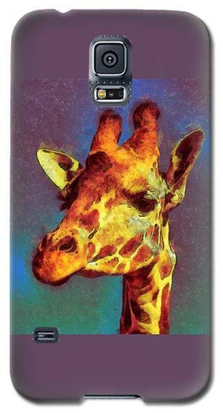 Giraffe Abstract Galaxy S5 Case