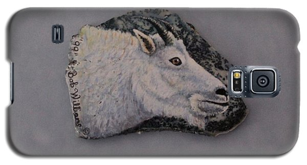 Glacier Park Mountain Goat Galaxy S5 Case