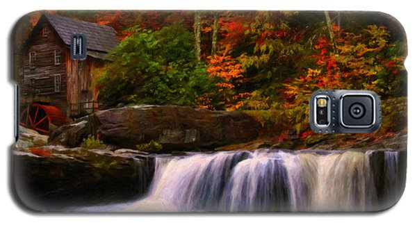 Glade Creek Grist Mill Galaxy S5 Case by Chris Flees