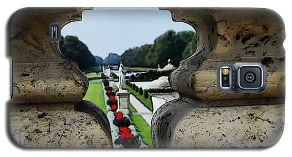 Glimpse Of The Nymphenburg Garden Galaxy S5 Case by Zinvolle Art