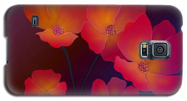 Galaxy S5 Case featuring the digital art Glorious by Latha Gokuldas Panicker