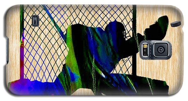 Goalie Galaxy S5 Case by Marvin Blaine