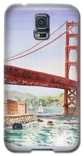 Golden Gate Bridge San Francisco Galaxy S5 Case