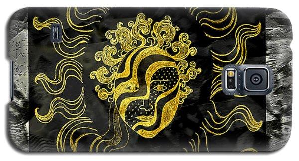 Golden God Galaxy S5 Case by Nareeta Martin