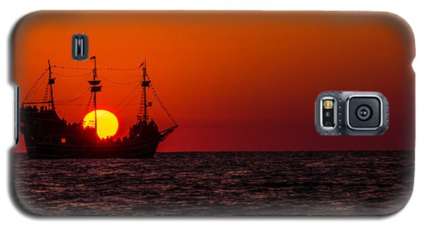 Golden Light Galaxy S5 Case by RC Pics