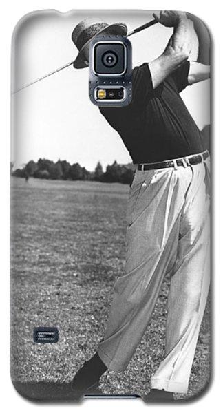 Golfer Sam Snead Galaxy S5 Case by Underwood Archives