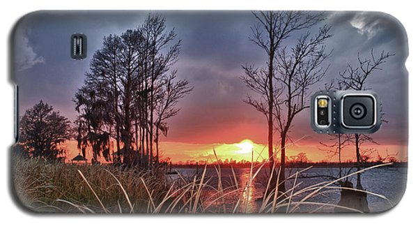 Grassy View Sunset Galaxy S5 Case