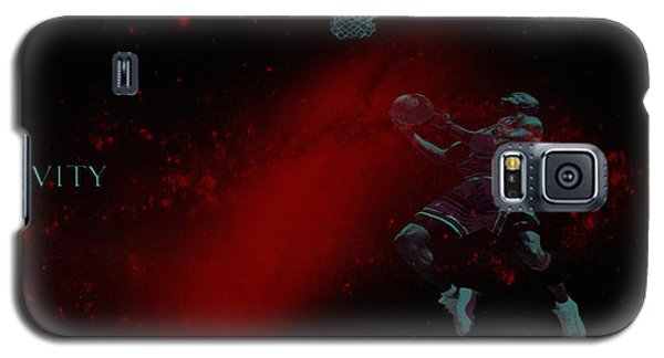Galaxy S5 Case featuring the mixed media Gravity by Brian Reaves