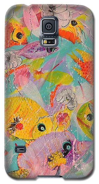 Great Barrier Reef Fish Galaxy S5 Case by Lyn Olsen