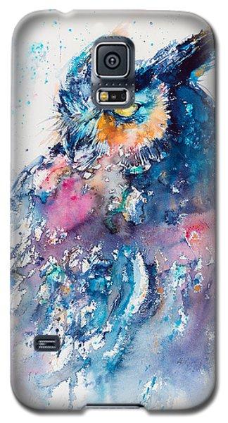 Great Horned Owl Galaxy S5 Case by Kovacs Anna Brigitta