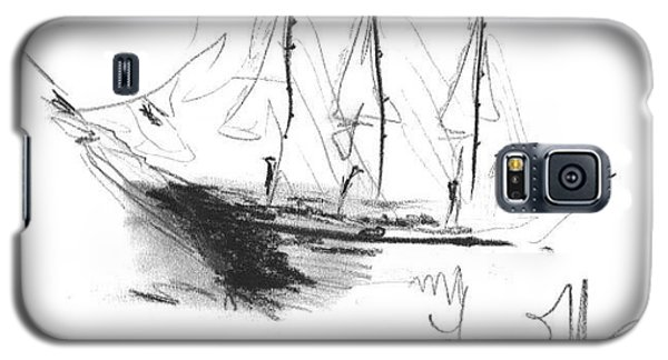 Great Men Sailing Galaxy S5 Case